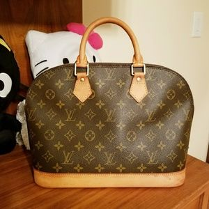 💯% Authentic Alma PM Monogram Canvas